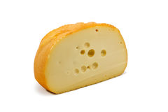 Half of the cheese NAME Royalty Free Stock Image