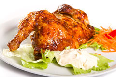 Half chicken Royalty Free Stock Photos