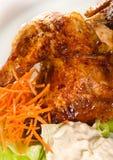 Half chicken Stock Images