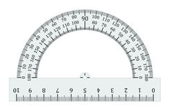 Free Half Circle Protractor Degrees Royalty Free Stock Photography - 94203227