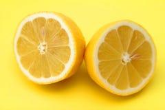 half citron Arkivbilder