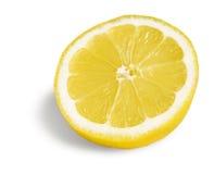half citron för frukt arkivbilder