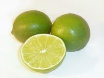 half citron två Arkivfoton