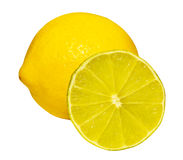 half citronlimefrukt Arkivfoto