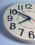 Half a clock royalty free stock photography