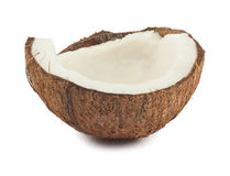 Half of coconut Royalty Free Stock Photography