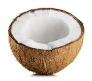 Half coconut royalty free stock photography