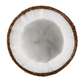 Half coconut Stock Photo