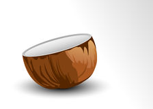 Half Coconut Royalty Free Stock Image