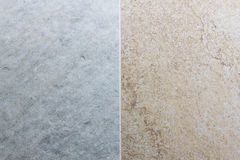 Half color tile texture wall for background. Stock Photos