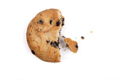 Half Cookie Royalty Free Stock Photography