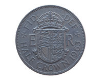 Half crown coin Royalty Free Stock Photography