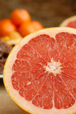 Half-cut grapefruit Royalty Free Stock Photo