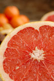 Half-cut grapefruit Royalty Free Stock Photo