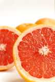Half-cut grapefruit Stock Images