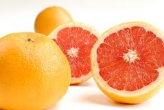 Half-cut grapefruit Stock Photos
