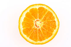 Half cut orange Royalty Free Stock Photo