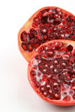 Half cut red pomegranate Royalty Free Stock Photo