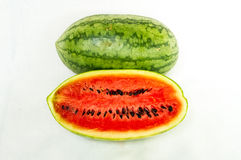 Half cut water melon Royalty Free Stock Images