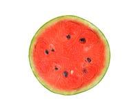 Half cut watermelon on white b Stock Photography