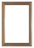 Half cylinder wooden frame Stock Photo