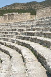 Half-destroyed amphitheatre Stock Photo