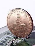 Half dollar Stock Image