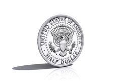 Half dollar Royalty Free Stock Photography