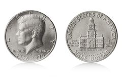 Half dollar Royalty Free Stock Image
