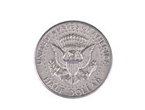 Half dollar coin Royalty Free Stock Image