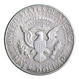 Half dollar coin Stock Photo