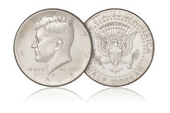 Half dollar coin Stock Photography
