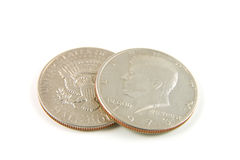 Half Dollars Stock Image