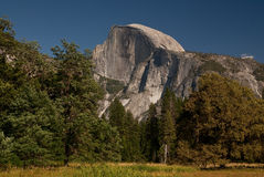 Half Dom, Yosemite, CA, USA stock photo