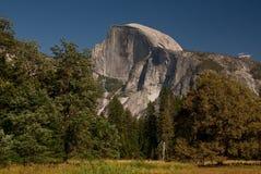 Half Dom, Yosemite, CA, USA. Half Dom view from Yosemite Valley, CA stock photo