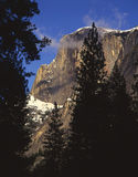 Half Dome. In Yosemite National Park, California as seen from the Yosemite Yalley floor Royalty Free Stock Image
