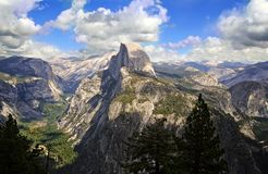 Half Dome. View of Half Dome in Yosemite, California Stock Image