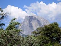 Half Dome. In Yosemite National Park stock photo