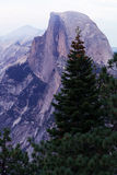 Half Dome as seen from Yosemite Valley. Royalty Free Stock Photos