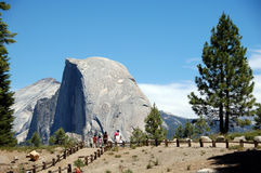 Free Half Dome At Glacier Point Yosemite National Park Stock Photos - 5524263