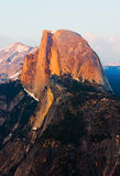 Half Dome At Sunset In Yosemite Stock Photos
