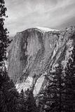 Half Dome in Black and White Stock Images