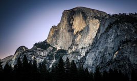 Half Dome at Dusk stock image