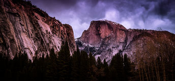 Half Dome at Dusk, Yosemite National Park, California Royalty Free Stock Photo