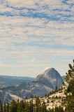 Half Dome from the east Stock Images