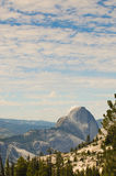 Half Dome from the East Royalty Free Stock Image
