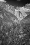 Half Dome and El Capitan Stock Photography