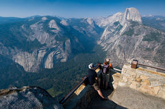Half Dome From Glacier Point Stock Photos