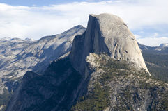 Half Dome from Glacier Point Stock Image
