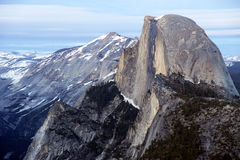 Half Dome from Glacier Point Royalty Free Stock Image